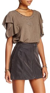 Free People Easy Does It T Shirt ACORN