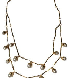 Tory Burch Tory Burch Pearl Multi-Strand Necklace