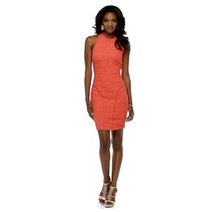 Kardashian Kollection short dress Coral on Tradesy