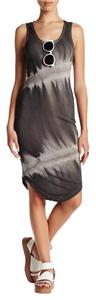 Religion short dress Dark Gray Glowing Jersey on Tradesy