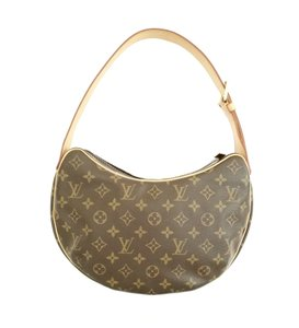 Louis Vuitton Monoram Croissant Monogram Gm Shoulder Bag