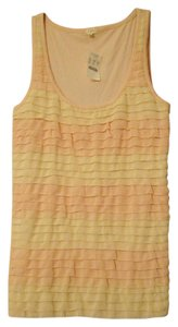 J.Crew Tank Shirt New Nwt Top pink and cream
