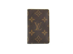 Louis Vuitton Slim Bifold Pocket Organizer Credit Card Wallet