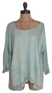 Anthropologie Moth Draped Lightweight Sweater