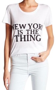 Rebecca Minkoff New York T Shirt White & Black