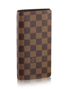 Louis Vuitton France Damier Ebene Vintage Bifold Long Wallet
