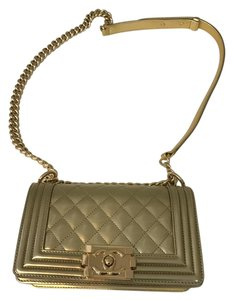 Chanel Quilted Leather Limited Edition Shoulder Bag