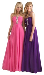 Night Moves Prom Collection Party Halter Top Dress