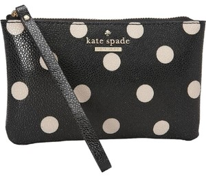 Kate Spade Wristlet in black & cream