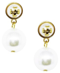 Tory Burch New Tory Burch Melodie Pearl Drop Earrings