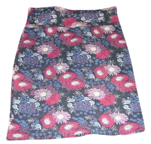 Forever 21 Mini Skirt Blue and Pink