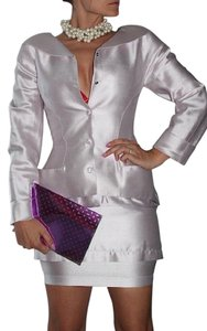 Thierry Mugler Thierry Mugler Silk Skirt Suit