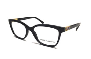 Dolce&Gabbana -NEW- DG 3187 501 Gorgeous Black Dolce Eyeglasses -FREE 3 DAY SHIPPING