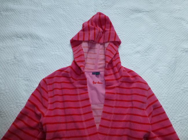 Boden short dress Pink Red Towelling Terry Cloth Beach Pool Hooded Cover Up on Tradesy Image 2