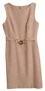 MILLY short dress Sand on Tradesy
