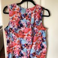 W118 by Walter Baker Floral Blouse Size 4 (S) W118 by Walter Baker Floral Blouse Size 4 (S) Image 2