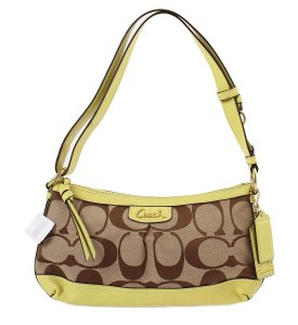 Coach Lime Crossbody Shoulder Bag