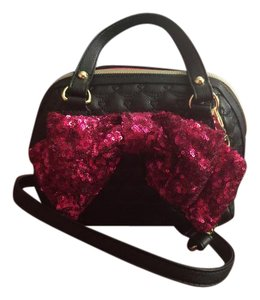 Betsey Johnson Quilted Cross Body Bag
