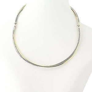 David Yurman Braided crossover Choker