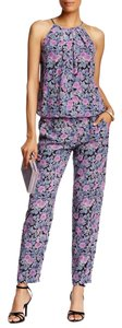 Joie Silk Casual Pant Floral Relaxed Pants Multi