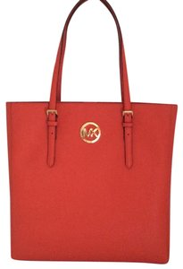 Michael Kors New With Tags Nwt Saffiano Tote in Mandarin Orange