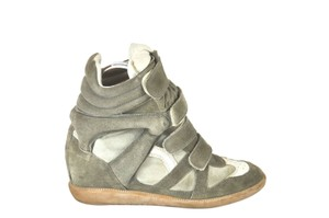 Isabel Marant Beckett High Top Sneakers Multicolor Wedges