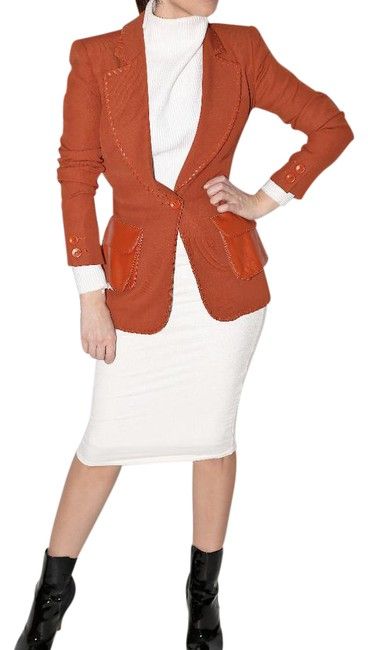 Preload https://img-static.tradesy.com/item/20556913/emanuel-ungaro-brick-red-cotton-blazer-size-6-s-0-1-650-650.jpg