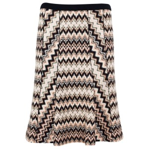 Missoni Striped Stretchy Skirt Mulit