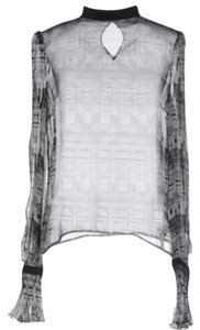 Genny Top Grey / Black / White