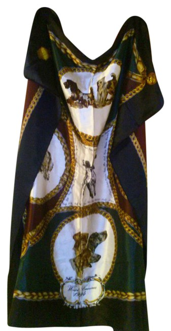 Item - Multiple Large Silk Dogs Scarf/Wrap