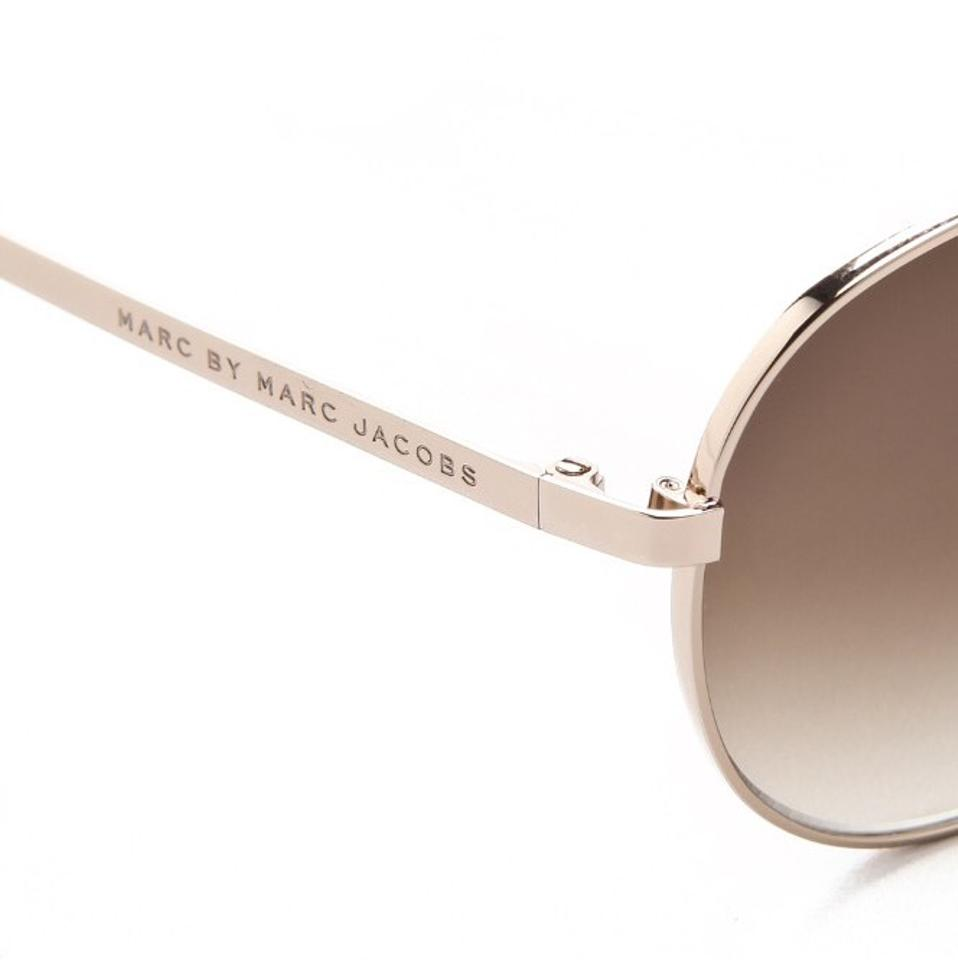 0e779f96317 Marc by Marc Jacobs Rose Gold Metal Aviator Sunglasses - Tradesy