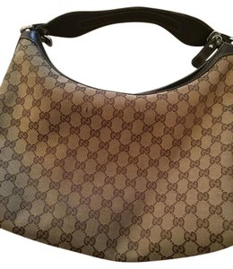 Gucci Handbag Monogram Satchel Hobo Bag