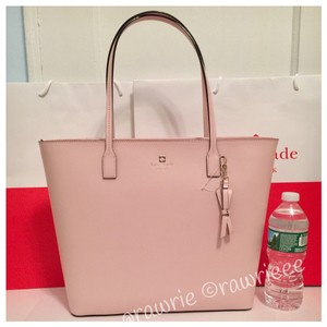 Kate Spade Large Zip Top Tote in Pink