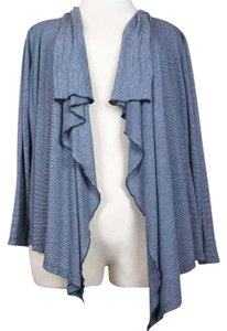 Coldwater Creek Striped Cardigan