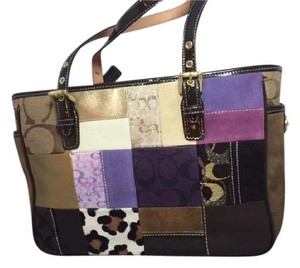 Coach Tote in Patchwork