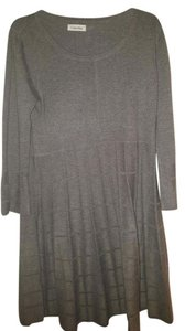 Calvin Klein Collection short dress GREY Fitted on Tradesy