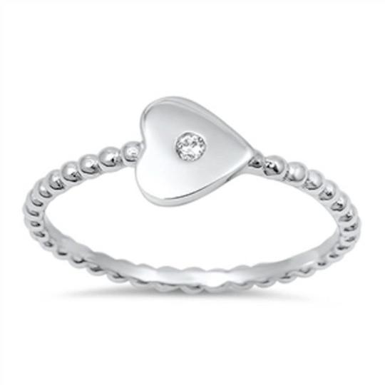 Preload https://img-static.tradesy.com/item/20557438/925-white-adorable-heart-rope-band-silver-size-6-ring-0-0-540-540.jpg