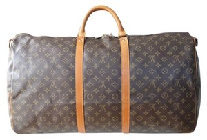 Louis Vuitton Keepall 60 Bandouliere 60 Bandouliere Travel Bag
