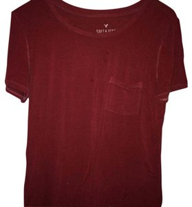 American Eagle Outfitters T Shirt Red