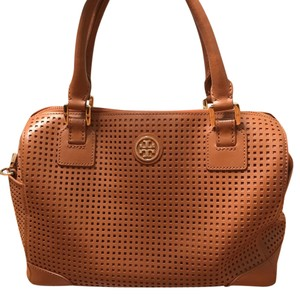 Tory Burch Satchel in Cognac