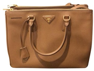 Prada Satchel in Tan/Caramel