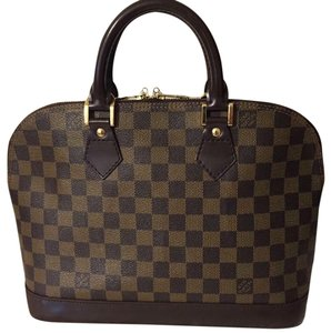 Louis Vuitton Satchel in black-brown