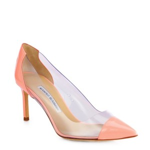 Manolo Blahnik Light Pink Pumps