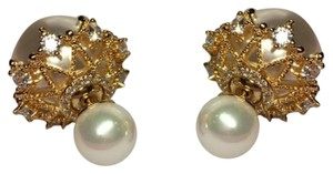 Other Shell pearl earrings