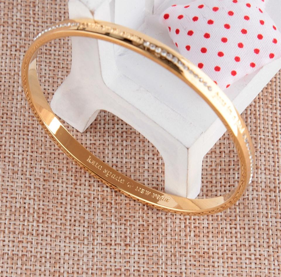 Kate Spade New Best Friends Ever Idiom Gold Bangle