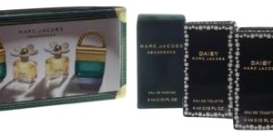 Marc Jacobs MARC JACOBS 4 PCS MINI SET FOR WOMEN.