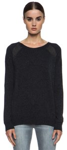 Vince Panel Cashmere Raglan Sleeve Sweater