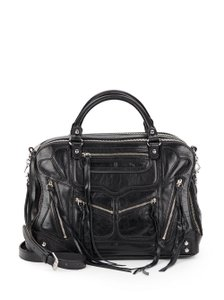 Rebecca Minkoff Leather New Satchel in Black