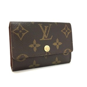 Louis Vuitton Signature Monogram Multicles GM Luxury 6 Ring Key Case