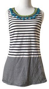 one.september Anthropologie Pom-pom Stripe Accents Top